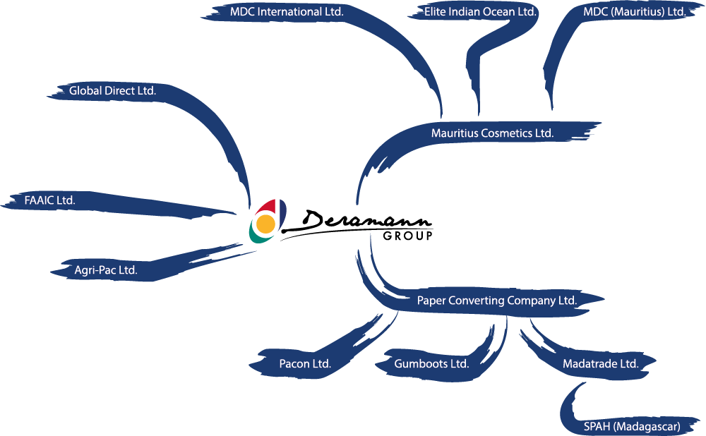 Deramann group organization chart